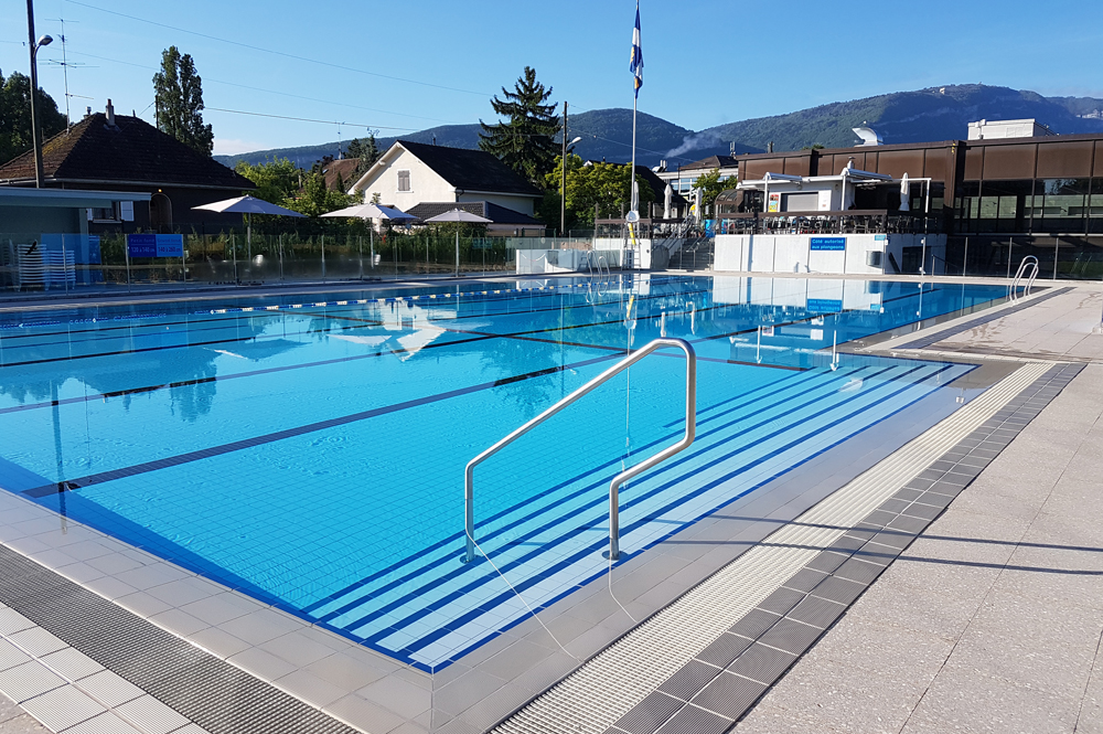 Piscine thonex for Temperature piscine