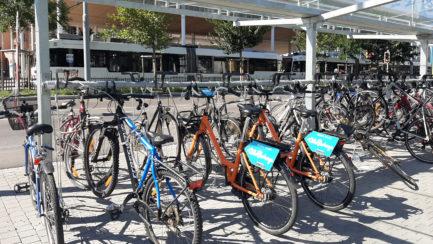VéloPartage disponible à Thônex