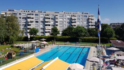 Fermeture de la piscine de Thônex